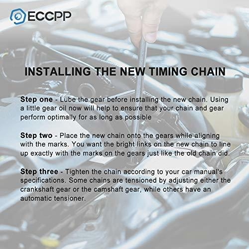 ECCPP TK1138 Timing Chain Kits Fits with Cam Sprocket 2007 2008 ...