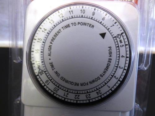 temporizador 24 horas / timer. programa encendido y apagado