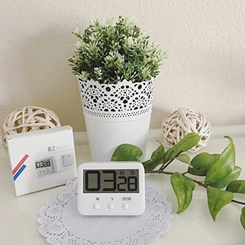 temporizador de cocina, claro gran pantalla digital alarma