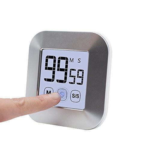 temporizador de cocina digital, con pantalla