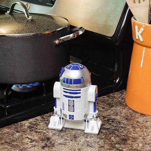 temporizador de cozinha com alarme (timer) r2-d2 - star wars