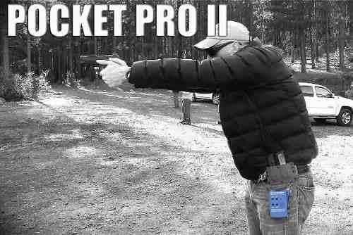 temporizador de disparo cronometro pocket pro rifle pistola