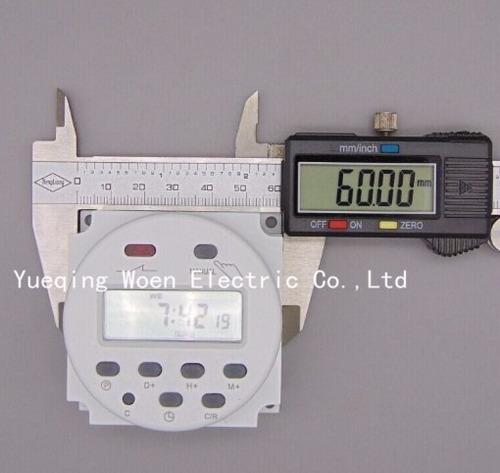 temporizador digital eléctrico de 220v/16a