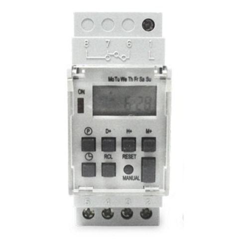 temporizador digital - trilho din35