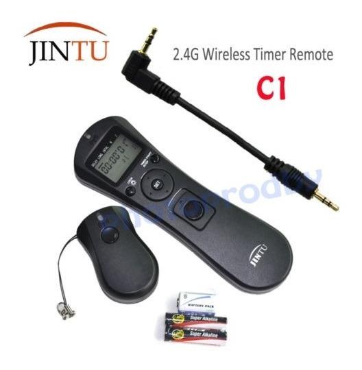 C1 Inalámbrico//Temporizador Remoto disparador de cable para Canon XS SL1 XT T5i T4i T3i