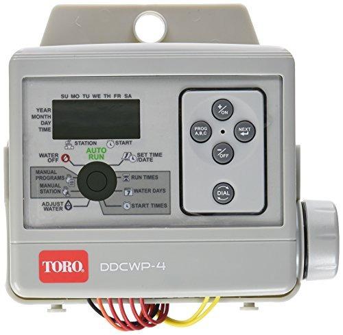 temporizador riego toro ddcwp-4-9v 4 estación a batería, ayr