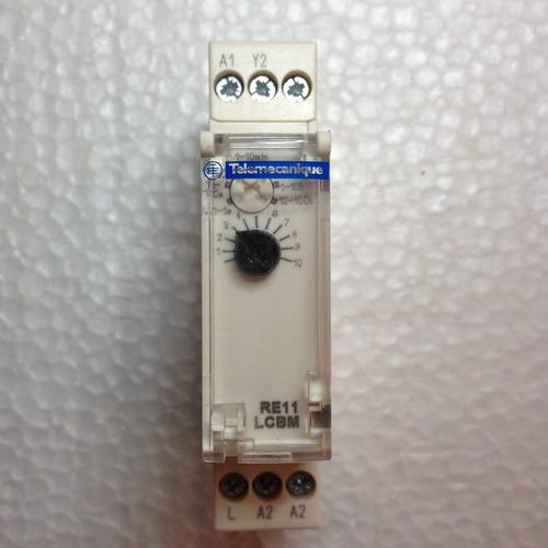 temporizador telemecanique re11lcbm t0.1s-100h-c 24-240vac