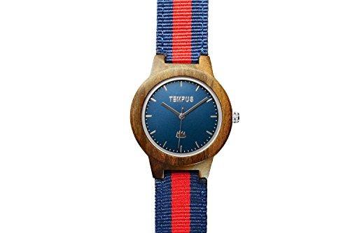 tempus - willoughby - reloj de madera para mujer minimalist
