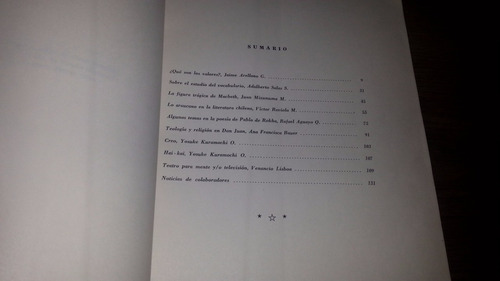 temuco revista stylo universidad de la frontera nro 1 - 1965