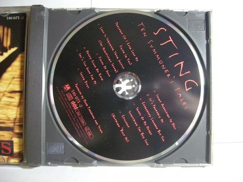 ten summoner's tales sting police cd en caballito