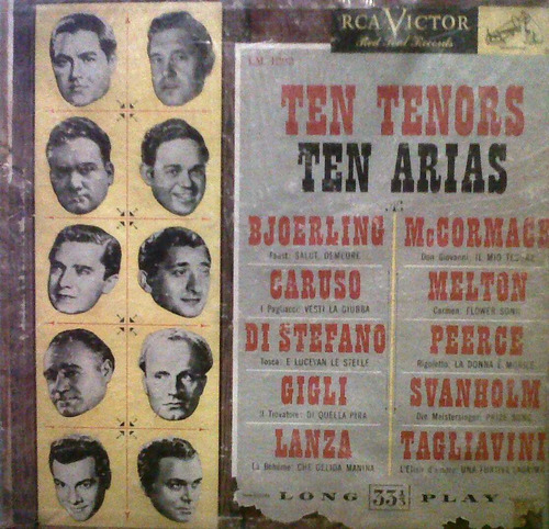 ten tenors. ten arias. lp
