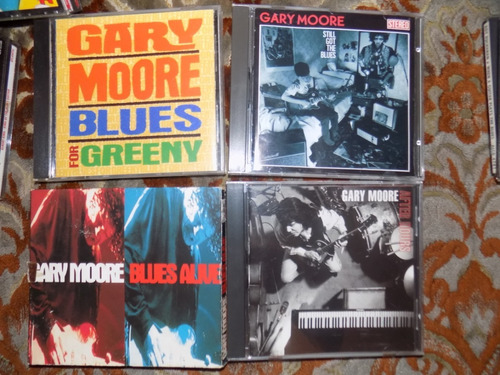 ten years after, gary moore, stevie ray vaughan, blues cds,