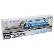 tenaza rizadora de canal babyliss nano titanium marcel 450°f
