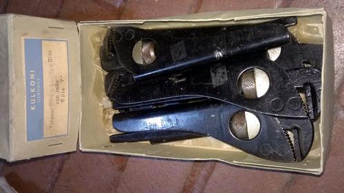 tenazas para tubo alemanas
