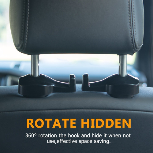 tencal car headrest hook, vehículo universal car seat seat