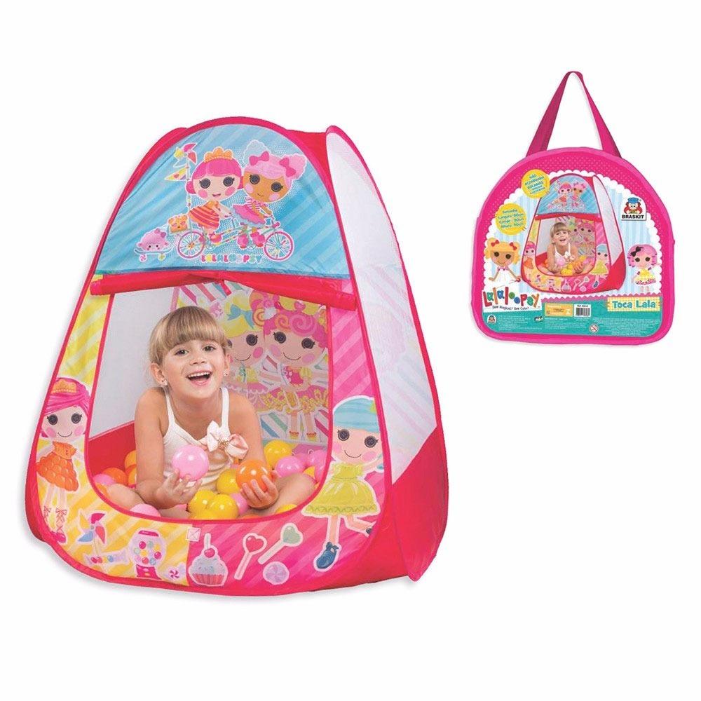 Tenda Barraca Toca Infantil Lalaloopsy Casinha Rosa Menina - R  89 ... 3ce40f1aaac