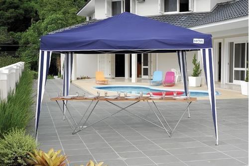 tenda gazebo 3x3 barraca articulada dobrável sanfonada praia