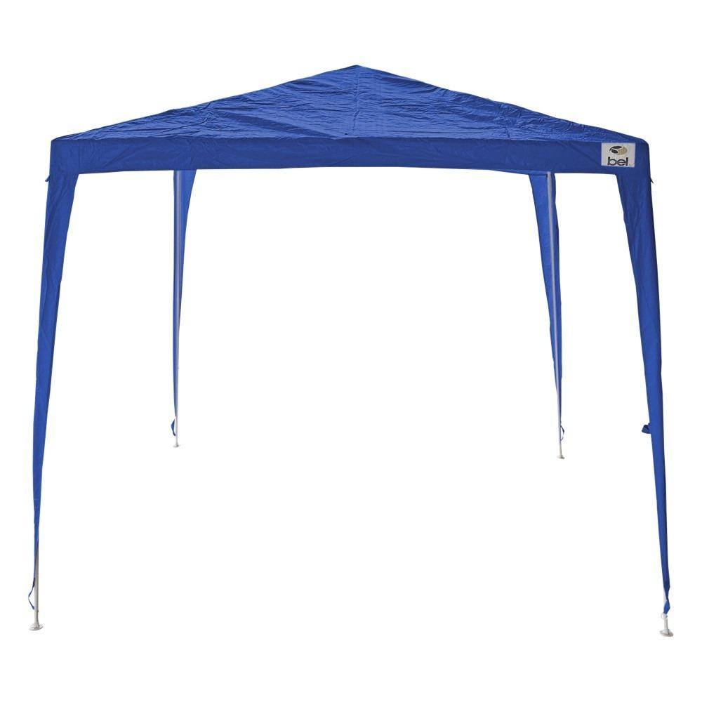 tenda gazebo 3x3m desmontável e encaixável azul belfix. Carregando zoom. ce4efc9e9d