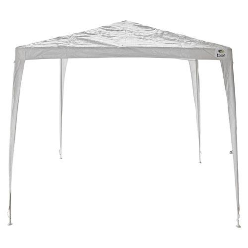 tenda gazebo 3x3m desmontável e encaixável branca belfix
