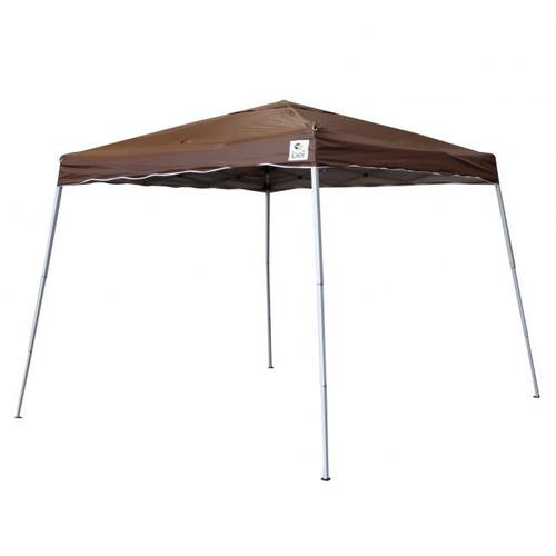 tenda gazebo 3x3m dobrável alumínio/poliester marrom belfix