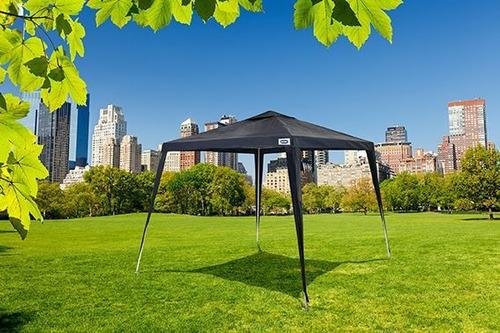 tenda gazebo azul ráfia base 3x3 metros desmontável mor