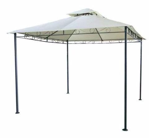 Tenda gazebo com estrutura de metal refor ado poliester for Copertura gazebo 3x3 leroy merlin