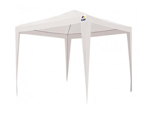 tenda gazebo polietileno 2 x 2 metros branco belfix