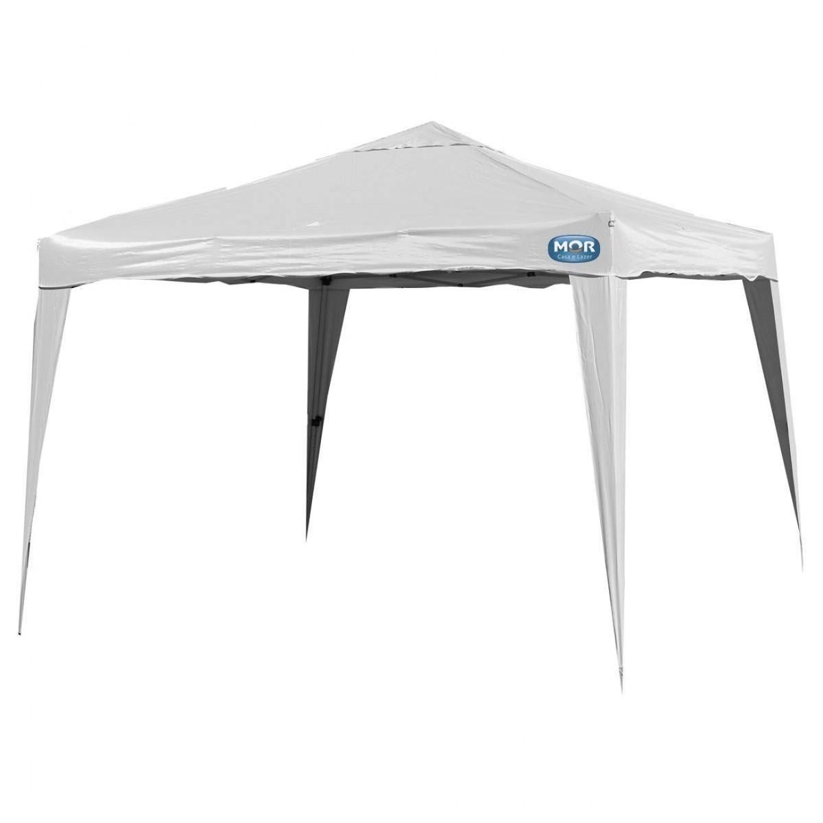 tenda gazebo x-flex dobravel articulada 3x3 mts branca mor. Carregando zoom. 6dac3bb0a6