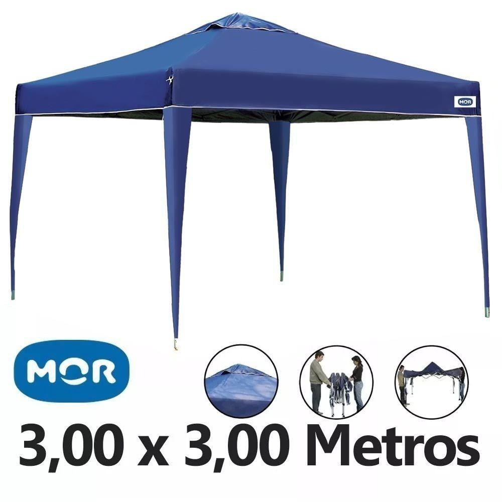 tenda gazebo x-flex oxford azul 3m x 3m com proteção mor. Carregando zoom. f114551e52