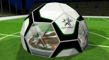 tenda geodésica para copa 2018