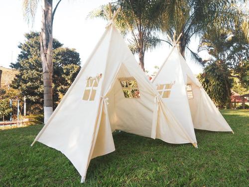 tenda infantil p/ festa pijama barraca toca cabana blackfrid