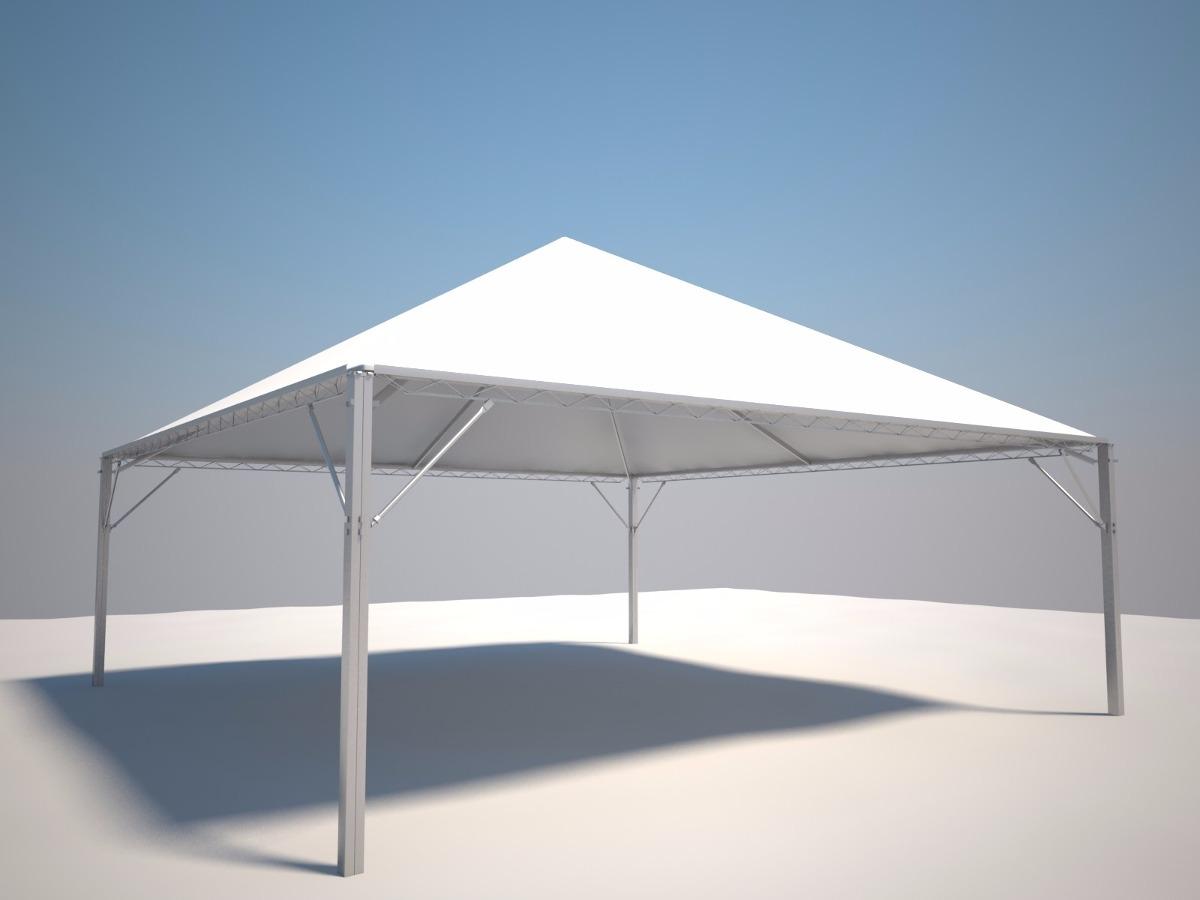 Tenda piramida 10x10 metros com calhas r em - Piastrelle 10 x 10 ...