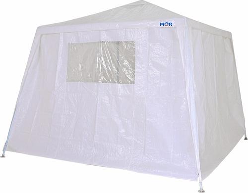 tenda praia gazebo branca mor camping + conj parede 2 lados