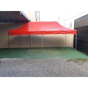 Tenda Sanfon. 6x3 Cobertura Pvc Emborrachada Cores Variadas