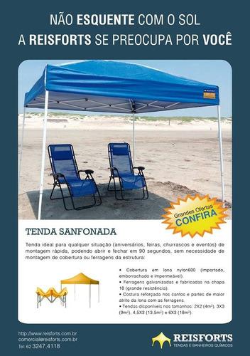 tenda sanfonada 2x2