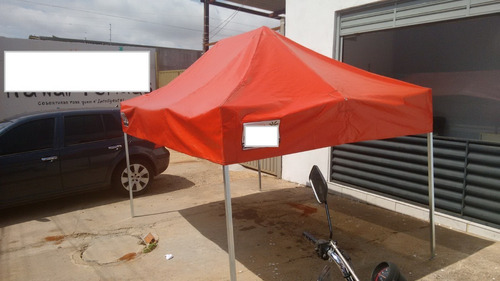 tenda sanfonada 4,5x3 pvc