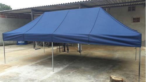 tenda sanfonada 6x3 ferro