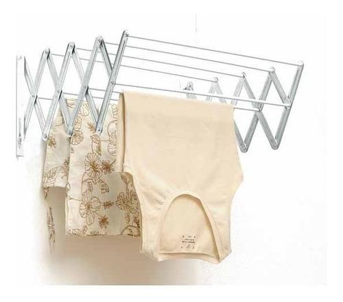 tendedero extensible para tender ropa 1mt ancho 10 varillas