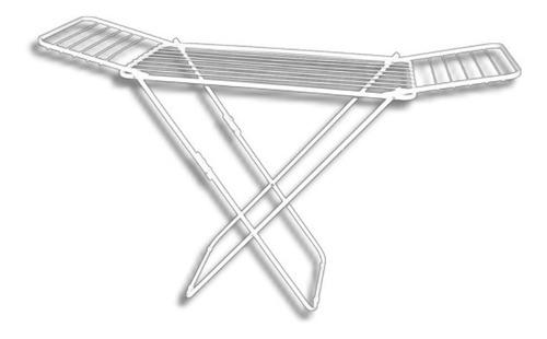 tendedero plegable con alas 8 varillas para tender ropa