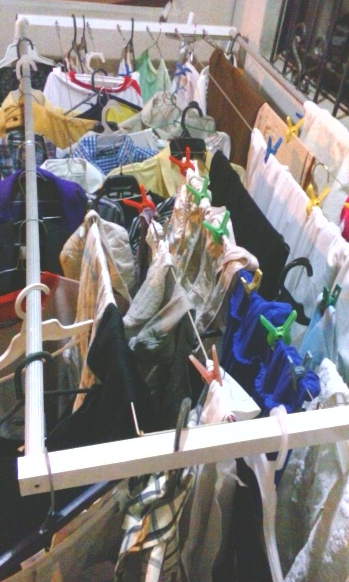 tendedero ropa plegable interior y exterior de uso pesado