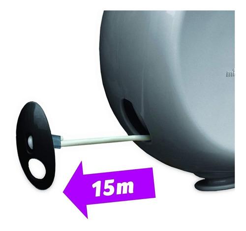 tendedero secador retráctil carrete 15 kilos 15 metros
