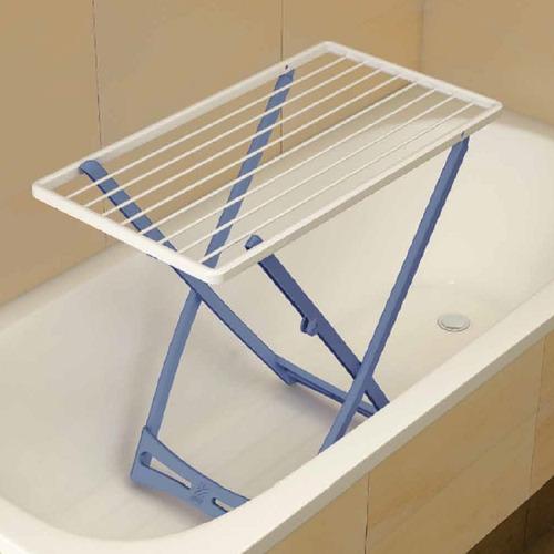 tendedero tender ropa pie bañera piso plegable gimi italiano