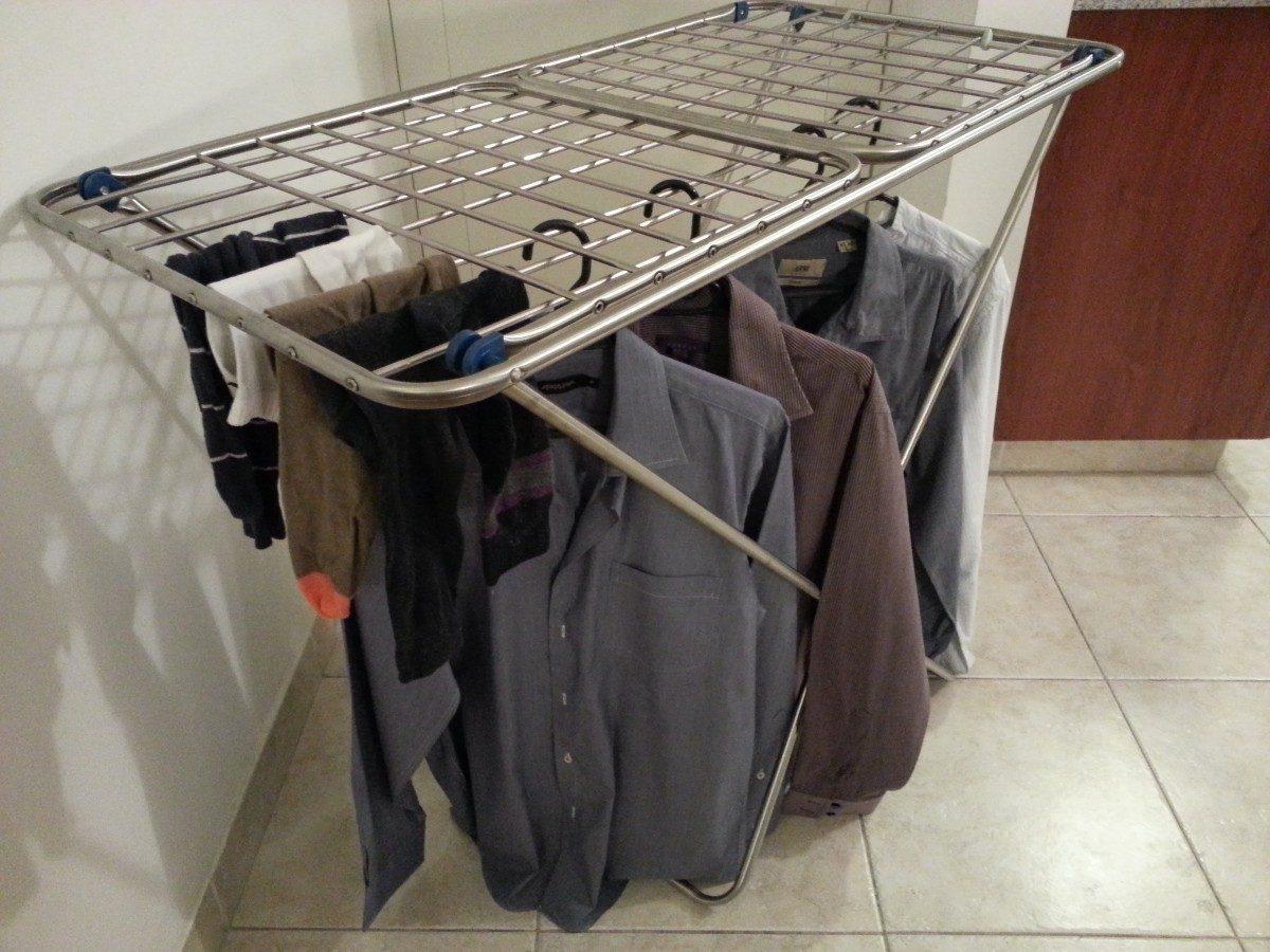 Tendederos de ropa plegable en aluminio en - Tendedero ropa plegable ...