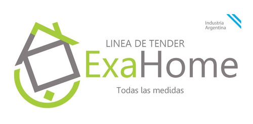 tender de pared extensible 80cm 10 varillas exahome