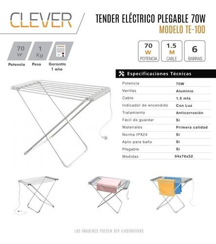 tender electrico clever bajo consumo reforzado envio gratis
