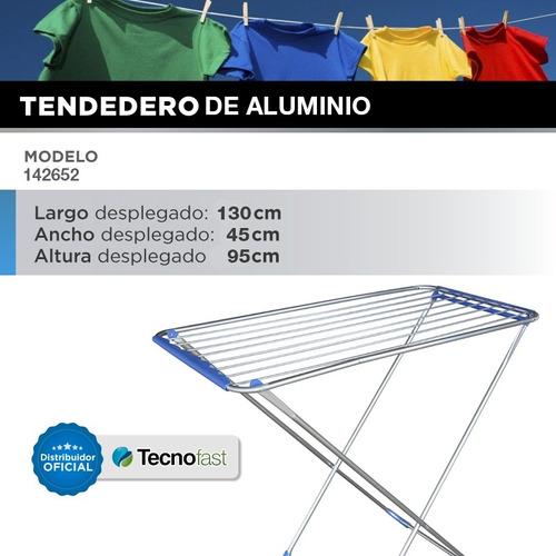 tender para ropa plegable tendedero aluminio reforzado