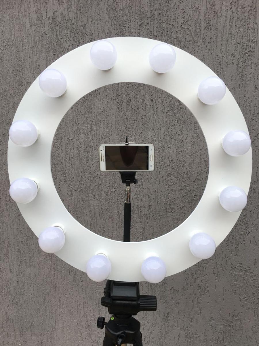 Tendência Ring Light C/12 Led+tripé+pau Selfie+frete