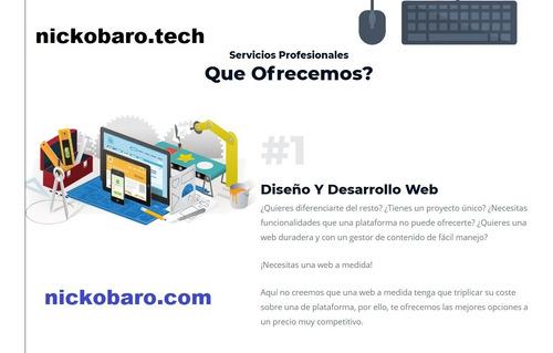 tene tu pagina web paginas web / economicas y calidad / apps