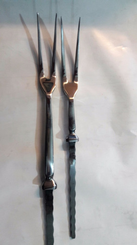 tenedor de asador  para encabar marca seigen  40 cm