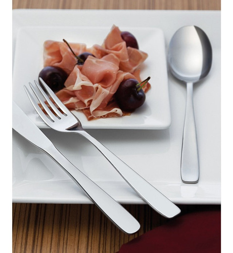tenedor de mesa 12 piezas cosmos - tramontina tf4024